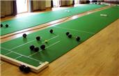 Time for indoor bowls
