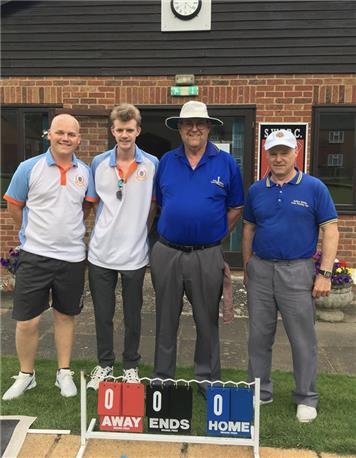 Ryan, Russell, Cliff and Steve - County Pairs Success